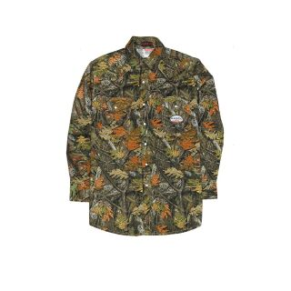 FR Woodland Camo Work Shirt-