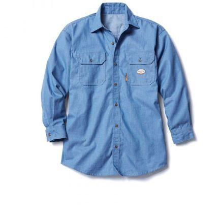 FR Chambray Uniform Shirt-Rasco FR