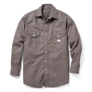 FR Gray Heavyweight Work Shirt-