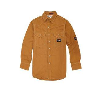 FR Brown Duck Heavyweight Work Shirt-
