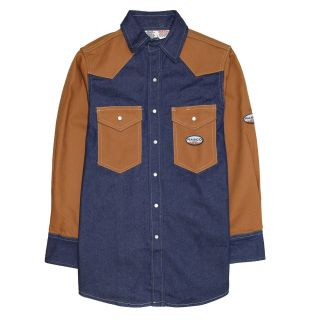 FR Duck/Denim Work Shirt-Rasco FR