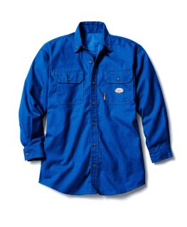 FR 4.5oz Nomex Uniform Shirt-Rasco FR