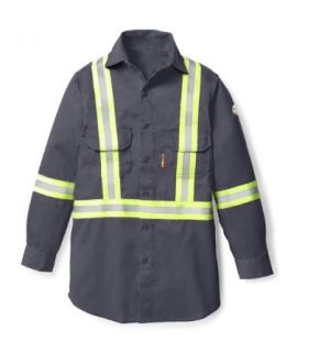 Uniform Shirt w/ Reflective Trim-