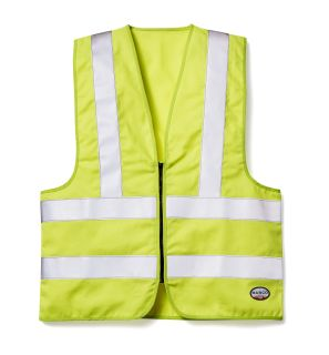 FR Hi Vis Yellow Vest-Rasco FR