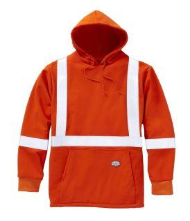 FR Hi Vis Pullover Hoodie-Rasco FR