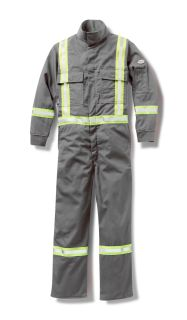 Coverall w/ Reflective Trim-Rasco FR