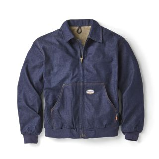 FR Denim Hooded Jacket-