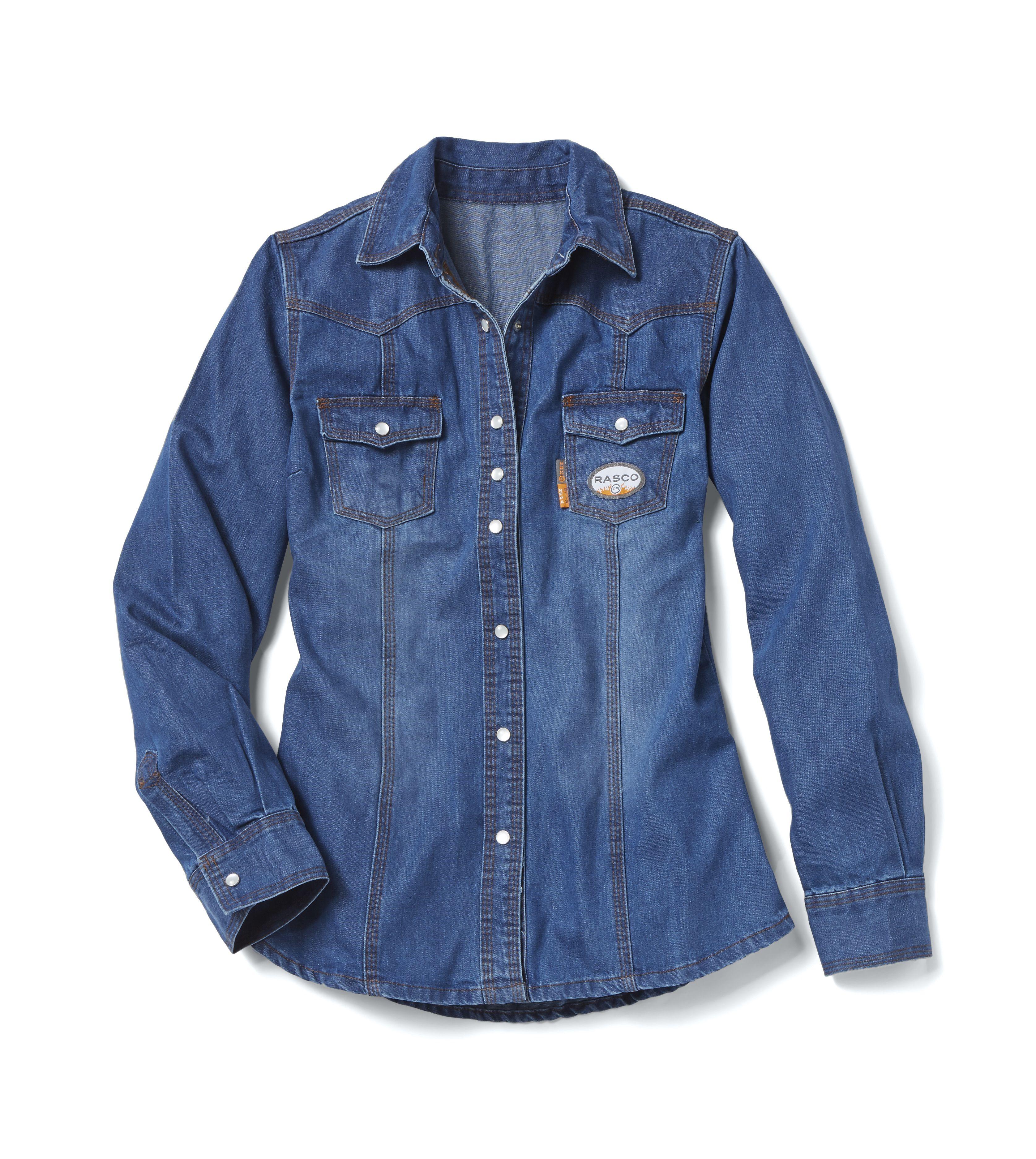FR Women's Denim Shirt-Rasco FR