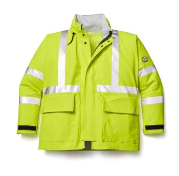 Hi Vis Yellow Rain Bib-