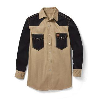 10 Oz Khaki Black-Rasco FR