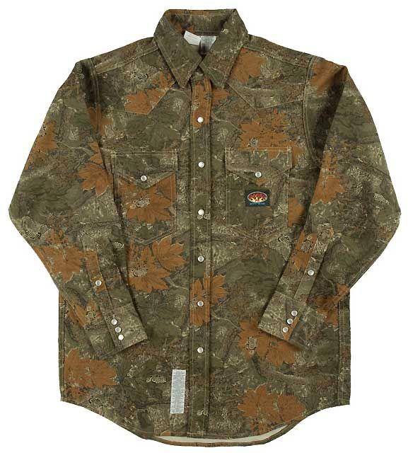 10 Oz Camo Shirt-