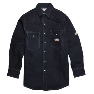 FR Heavyweight Navy Work Shirt-