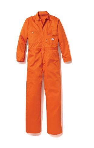 Orange Fr Coverall