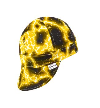 Non FR Yellow Lightning Welding Cap-