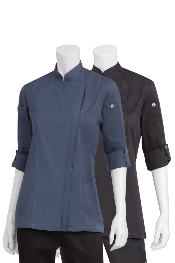 Womens Hartford Chef Coat-CW