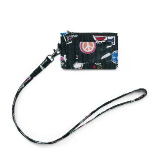Zip ID Case With Lanyard