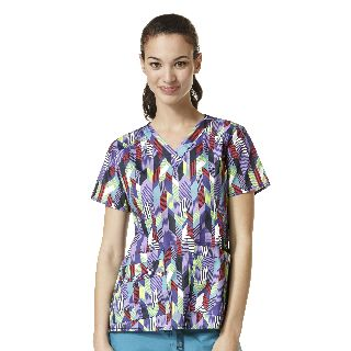 Verity Print Top