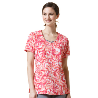 WonderWink Four-Stretch Curve-Centric Fashion Scrub Top