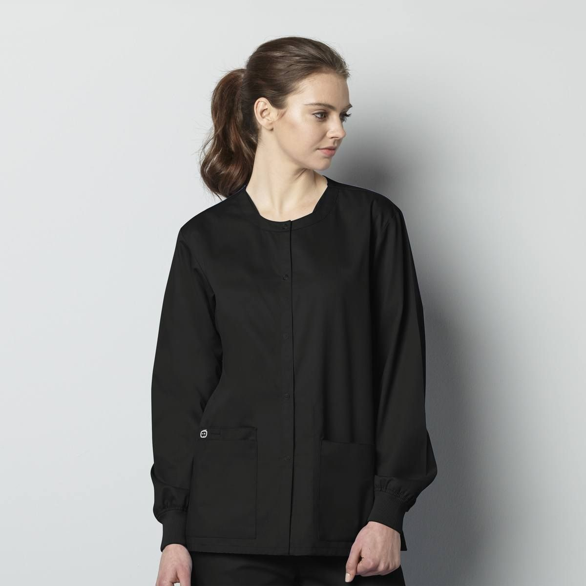 Unisex Snap Front Jacket