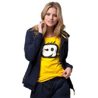 WonderWink Layers Women's Cotton Fleece Zip Front Jacket