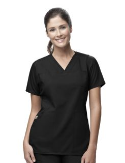 WorkFlex Four Pocket V-Neck