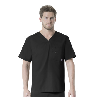 Mens V-Neck Multi-Pocket Top