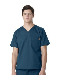 Mens Carhartt Utility 1 Pocket Scrub Top