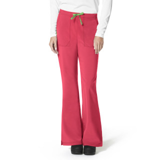 Flat Front Flare Pant