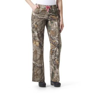 Womens Boot Cut Print Pant