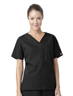 Carhartt Premium Unisex V-Neck Chest Pocket Scrub Top-Carhartt