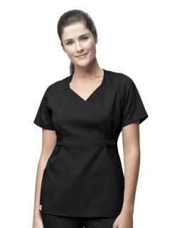 WorkFlex Fashion Mock Wrap-