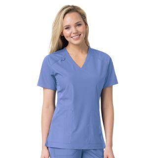 Carhartt Liberty Women's Multi-Pocket V-Neck Scrub Top - C12106-Carhartt