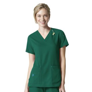 Carhartt Cross Flex V-Neck Tech Scrub Top - C12110-Carhartt