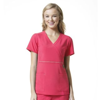 Carharrt Cross-Flex Mock Wrap Scrub Top-Carhartt