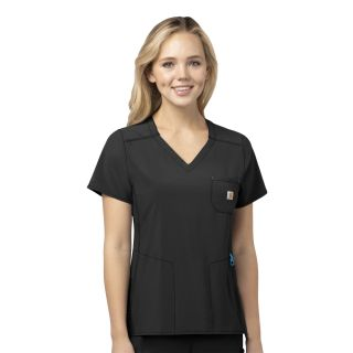CRX Womens Diamond Neck Wrap Top-Carhartt