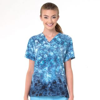 V-Neck Border Print Top-Carhartt