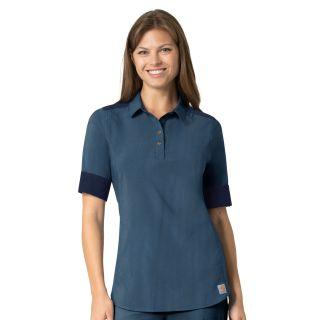 CCX Force Wmns Scrub Shirt Navy Heather-Carhartt