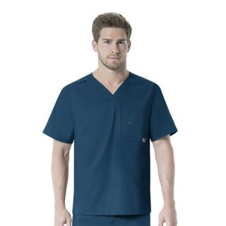 WSL - Carhartt FORCE Men's Multi-Pocket V Neck Scrub Top - C15101-Carhartt