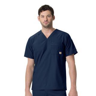 Carhartt Liberty Men's Slim Fit V-Neck Scrub Top - C15106-Carhartt