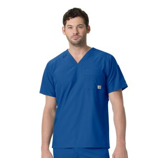 Carhartt Liberty Men's Slim Fit V-Neck Scrub Top - C15106-Carhartt