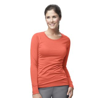 Carhartt Knits Women's Long Sleeve Burnout Jersey Tee - C30109-Carhartt