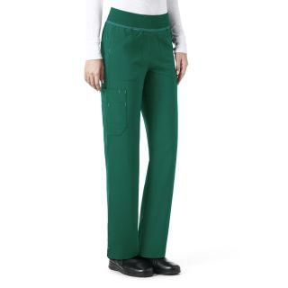 Carhartt Cross Flex Ladies Straight Leg Knit Waist Cargo Scrub Pant - C52310-Carhartt