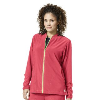 Carhartt Cross Flex Ladies Zip Front Scrub Jacket - C82310-Carhartt