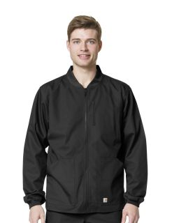 Mens Ripstop Zip Front Jacket