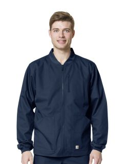 Carhartt Men's RipStop Zip Front Warm Up Jacket - C84108-Carhartt