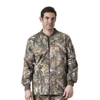 Zip Front Print Jacket-