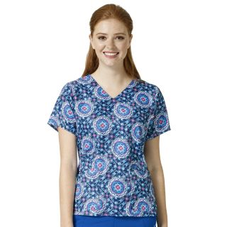 NETTIE V-Neck Print Top-VeraBradley