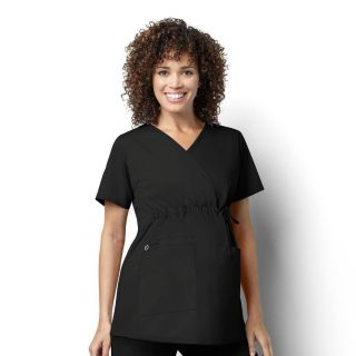 Maternity Mock Wrap Top-