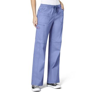 Wonder Flex Faith Multi-Pocket Cargo Womens Pant by Wink-WonderWink