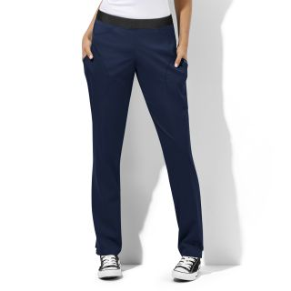Womens Straight Leg Pant-WonderWink